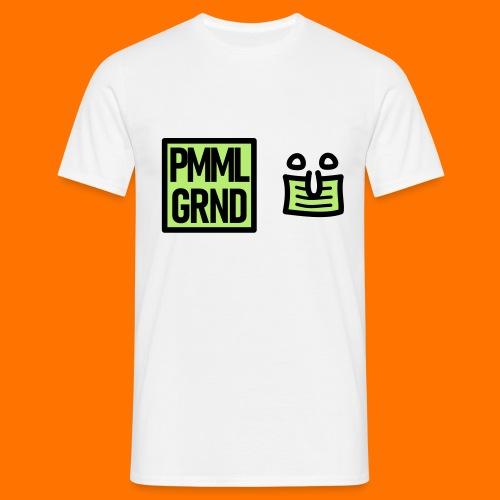 PMML GRND Maskenträger Rüsselzeiger - Männer T-Shirt