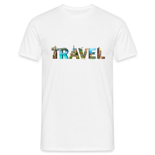 TRAVEL WORD - Camiseta hombre