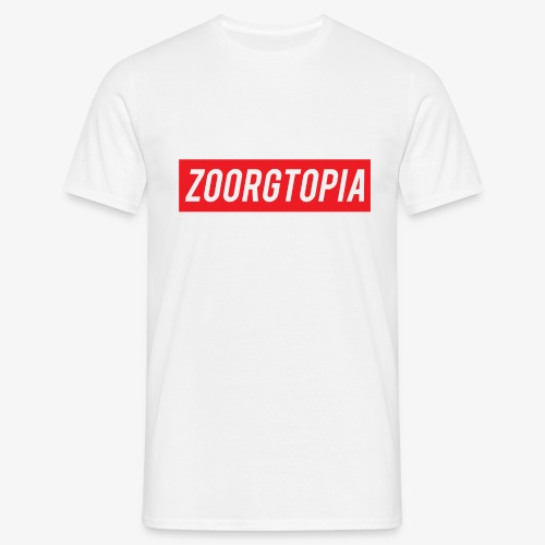 Zoorg Red Background - Men's T-Shirt