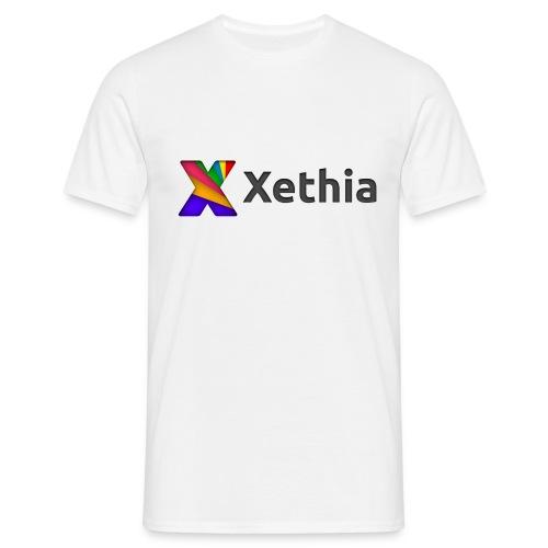 Xethia Logo - T-shirt herr