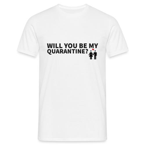 Schriftzug mit Motiv - Männer T-Shirt