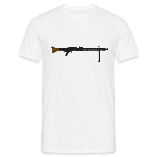 Mg42 Mg3 german gun - Men's T-Shirt
