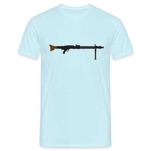 Mg42 Mg3 german gun - Men's T-Shirt