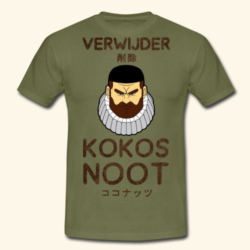 Verwijder Kokosnoot - Mannen T-shirt