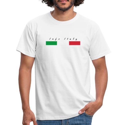 Info Italy Design - Maglietta da uomo