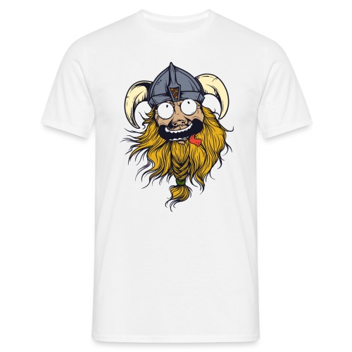 Crazy Viking - Männer T-Shirt