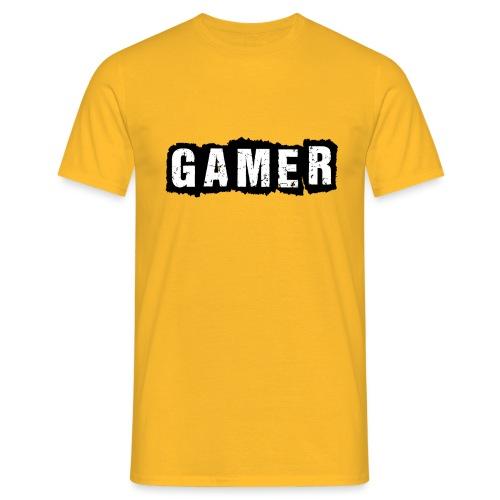 D 40 Gamer - Männer T-Shirt