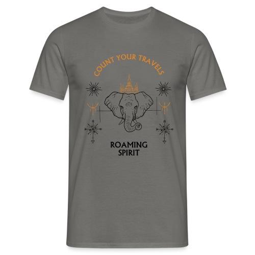 ROAMING SPIRIT travel tees - Men's T-Shirt