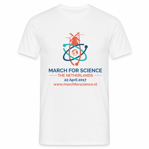 MfS-NL logo light background - Men's T-Shirt