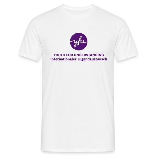 YFU Main Logo cmyk - Männer T-Shirt