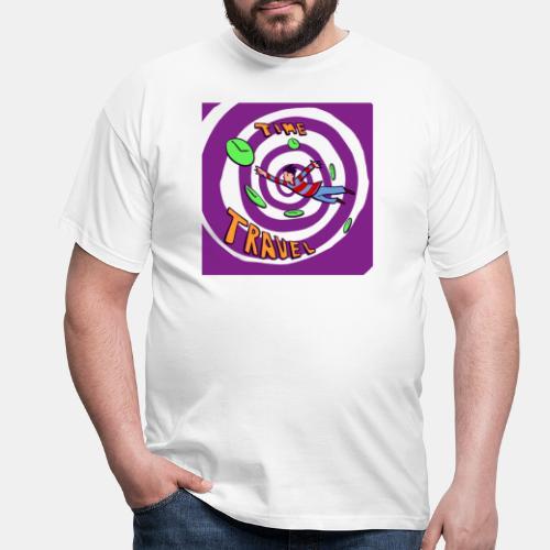 Time Curve Line - Camiseta hombre