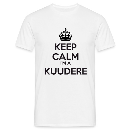 Kuudere keep calm - Men's T-Shirt