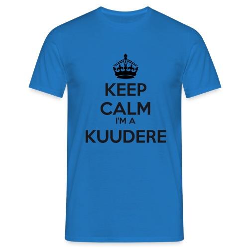 Kuudere keep calm - Men's T-Shirt
