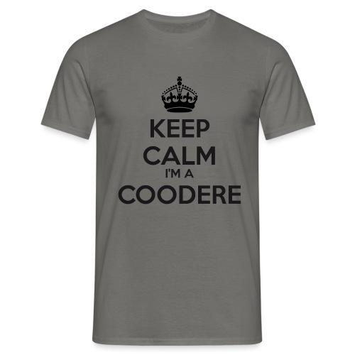 Coodere keep calm - Men's T-Shirt