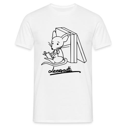 Leseratte - Männer T-Shirt