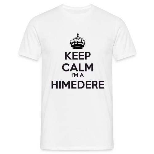 Himedere keep calm - Men's T-Shirt