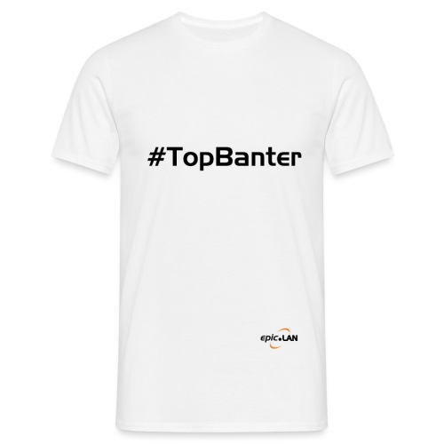 TopBanterBlack png - Men's T-Shirt