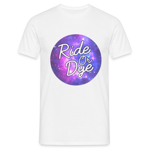 Galaxy Round - Men's T-Shirt