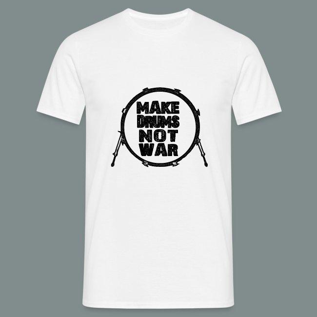Make drums not war black