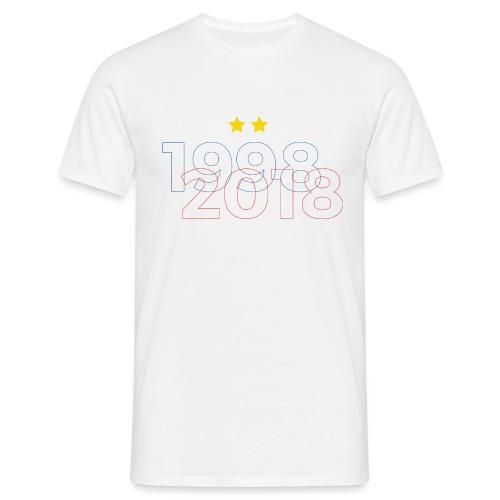 T-shirt champion du monde 2 étoiles - T-shirt Homme