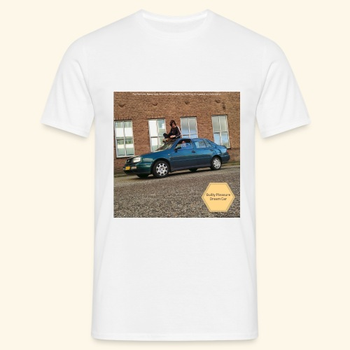 Guilty Pleasure Dream Car - Mannen T-shirt