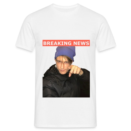 Breaking News - Herre-T-shirt