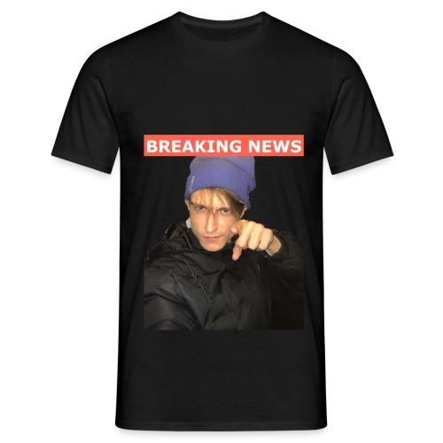 Breaking News - Herre-T-shirt