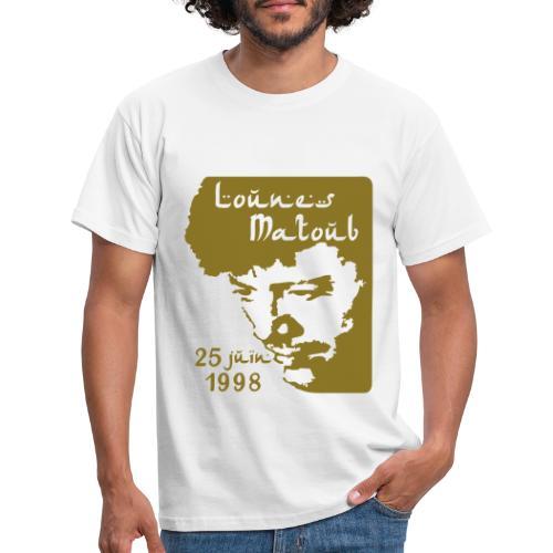 Motif hommage à Lounes Matoub - T-shirt Homme