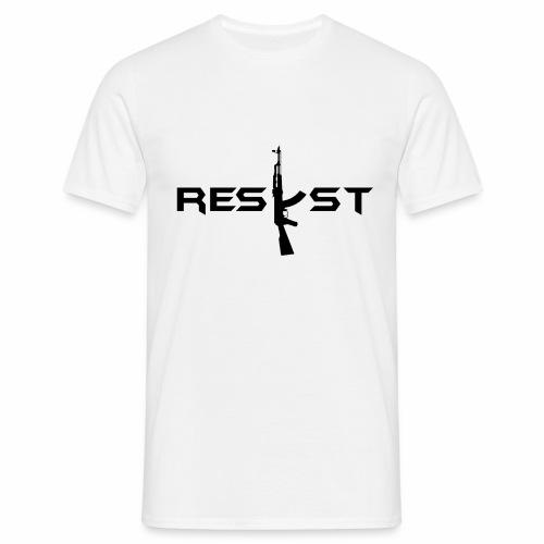 resist - T-shirt Homme