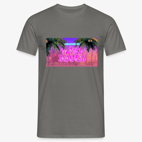 Welcome To Twitch Squads - Men's T-Shirt
