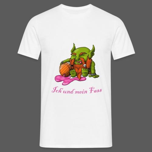 Ich und mein Fass - Männer T-Shirt