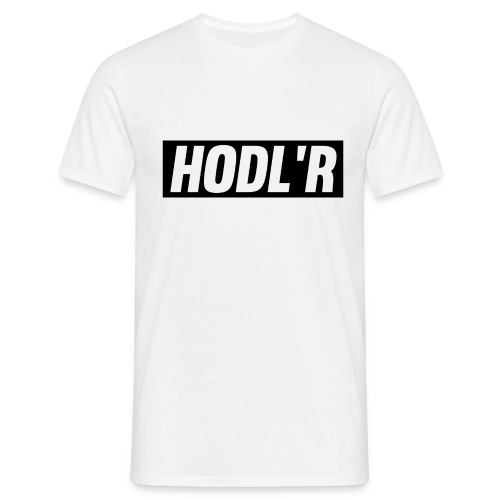 HODL'R - For the real crypto fans - Mannen T-shirt