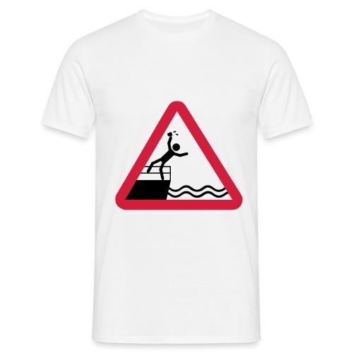 Bitte kein Bier Verschütten! - Männer T-Shirt