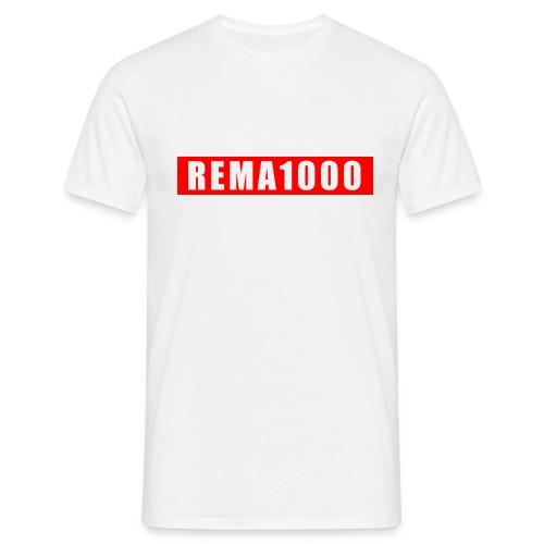 REMA 1000 - Herre-T-shirt