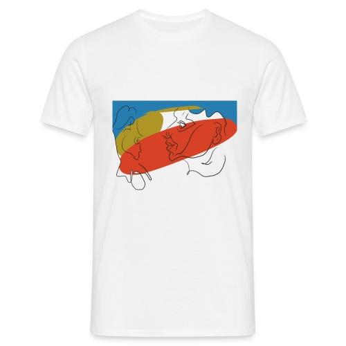Lineform No.1 - Männer T-Shirt