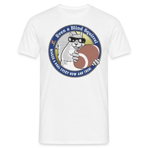 Blind Squirrel Football - Men's T-Shirt