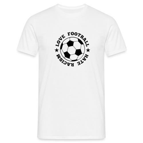 NEUNEUhateracismBLACK png - Männer T-Shirt