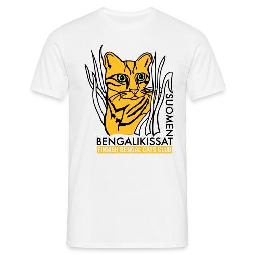 Bengalilogo valkoiselle - Miesten t-paita