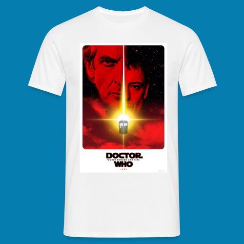 Twelfth Doctor and the Master poster - Maglietta da uomo