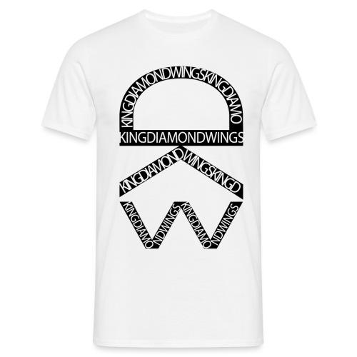 King Diamond Wings Logo - Men's T-Shirt