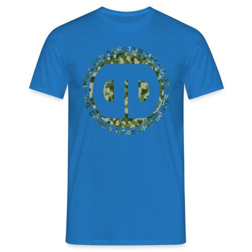 ddz camo logo2 - Men's T-Shirt