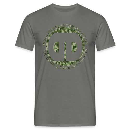 ddz camo logo2 - Men's T-Shirt