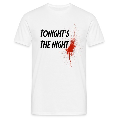 dexter tonight s the night - Camiseta hombre