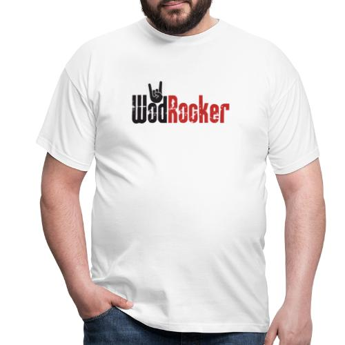 wodrocker logo - Men's T-Shirt