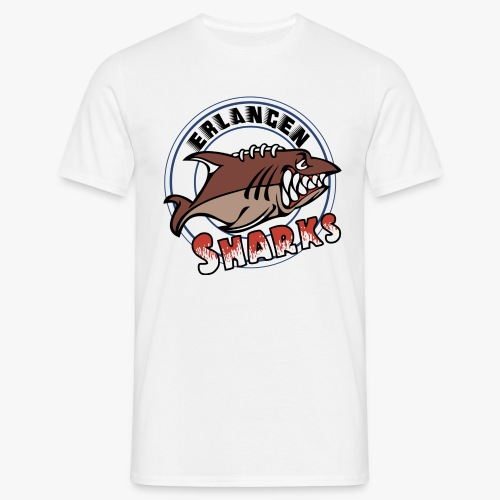 Erlangen Sharks Color - Männer T-Shirt