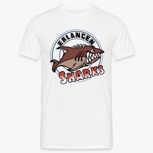 Erlangen Sharks Logo - Männer T-Shirt