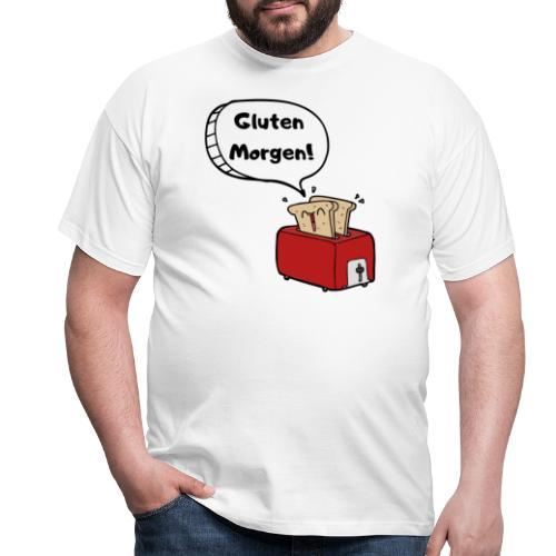 Gluten Morgen - Männer T-Shirt