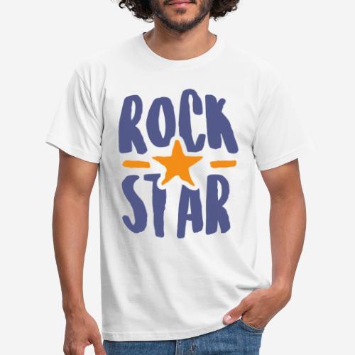 rock star - Männer T-Shirt