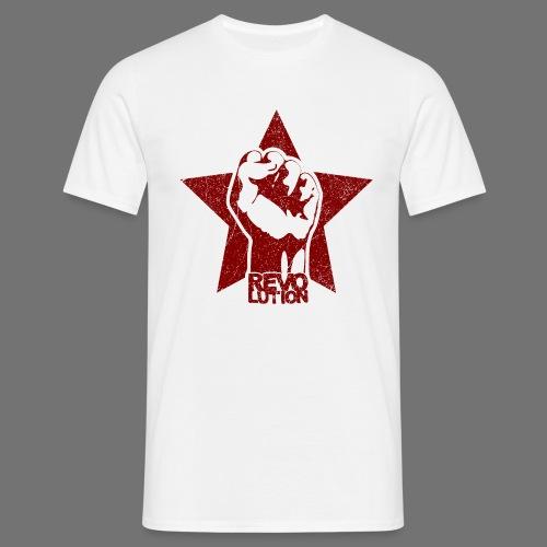 Revolution (oldstyle) - Miesten t-paita