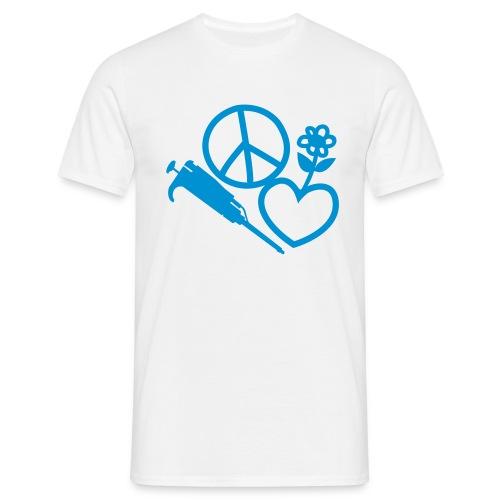 peacelove01 - Men's T-Shirt